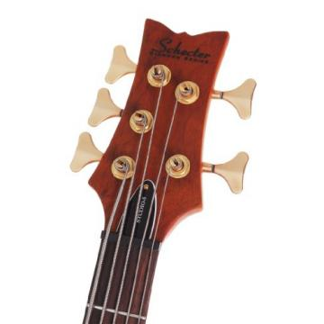 Schecter Stiletto Studio-5 Electric Bass (5 String, Honey Satin)