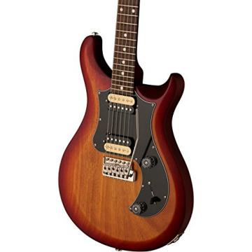 PRS S2 Standard 24 Satin Dark Cherry Sunburst Satin Black Pickguard