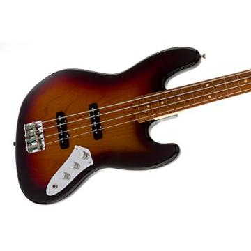 Fender Jaco Pastorius Jazz Electric Bass Guitar, Fretless, Rosewood Fretboard - 3-Color Sunburst
