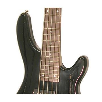 Kona Guitars KE5BBK 5-String Electric Bass Guitar with Split Pickup Configuration