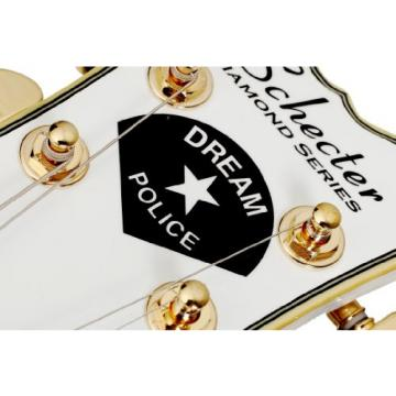 Schecter Robin Zander Corsair 6-String Semi Hollow-Body Electric Guitar, White