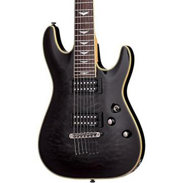 Schecter Guitar Research Omen Extreme-7 Electric Guitar See-Thru Black