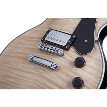 Schecter Solo-II Custom Solid-Body Electric Guitar, Gloss Natural