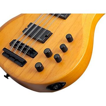 Schecter Guitar Research Riot-8 Session 8-String Electric Bass Satin Aged Natural