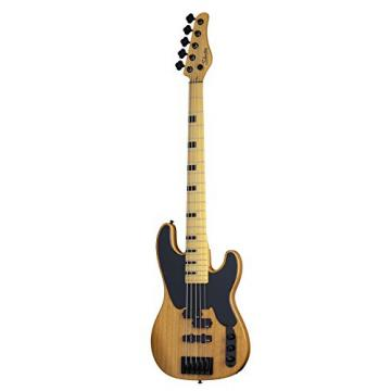 Schecter Model-T Session-5 5-String Bass Guitar, ANS