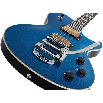 Schecter Guitar Research SOLO-6B Electric Guitar Blue Sparkle