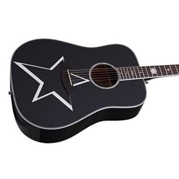 Schecter 283 Acoustic-Electric Guitar, Gloss Black