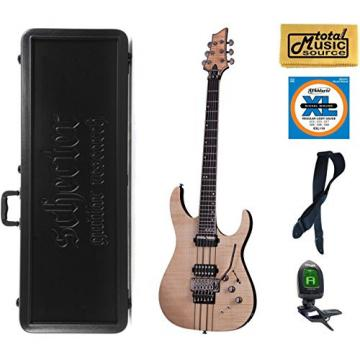 Schecter Banshee Elite-6 FR S Guitar, Case Bundle