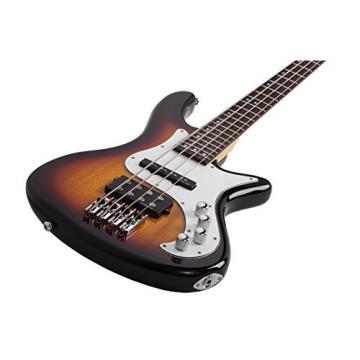 Shecter 2524 STILETTO VINTAGE-4 Bass Guitar w/ Hardshell Case