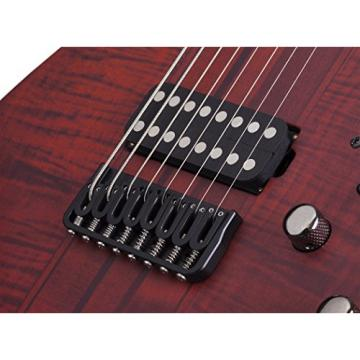 Schecter Banshee Elite-8 8-String Solid-Body Electric Guitar, CEP