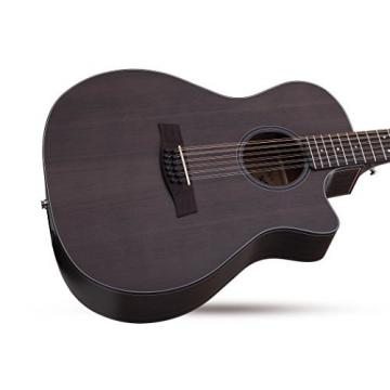 Schecter 3714 12-String Acoustic-Electric Guitar, Satin See-Thru Black