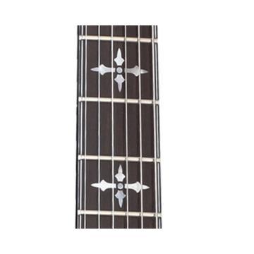 Schecter Hellraiser C-1 Extreme Left Handed 6-String Electric Guitar, Crimson Red Burst Satin