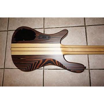 Electric Bass Guitar, 5 String, Active Pickups, neck through body