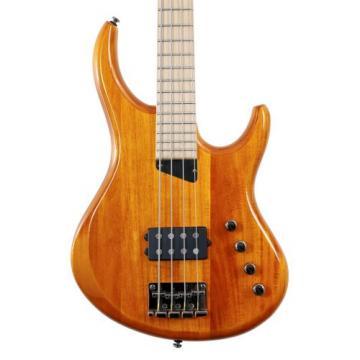 """MTD Kingston """"The Artist"""" Bass Guitar (4 String, Maple, Amber)"""