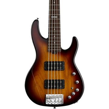 ESP E-II AP-5 - Tobacco Sunburst 5 String Bass