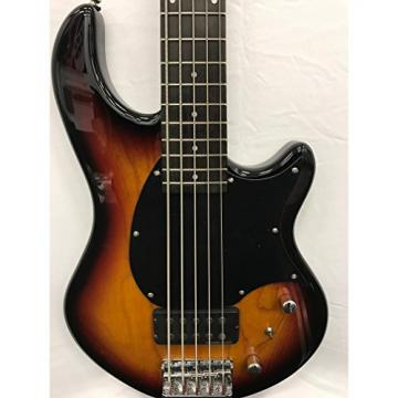 Fernandes Atlas 5 Deluxe Bass Guitar - 3 Tone Sunburst