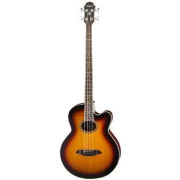Aria FEB-STD Acoustic-Electric Bass - Brown Sunburst