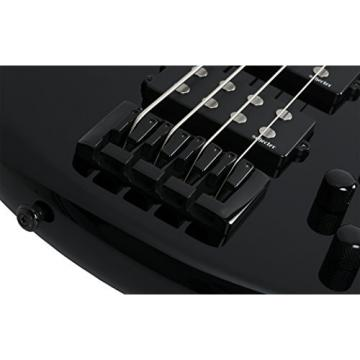Schecter 2841 4-String Bass Guitar, Gloss Black