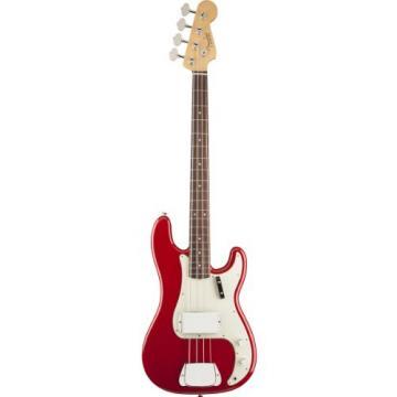 Fender American Vintage '63 Precision Bass Guitar, Rosewood Fingerboard - Seminole Red