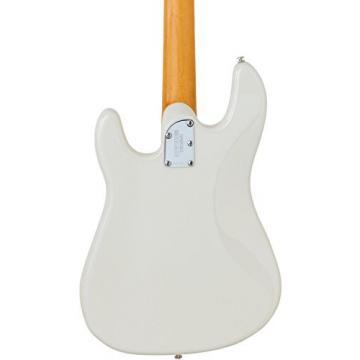 Ernie Ball Music Man 123-IW-10-07 Cutlass Bass Ivory White Maple Fretboard