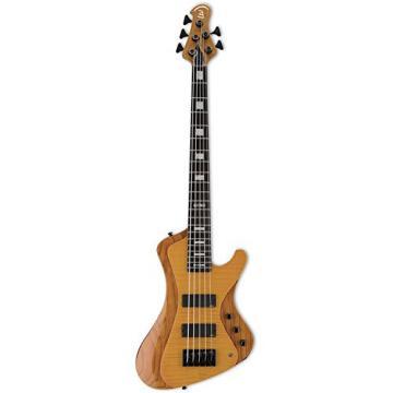ESP LSTREAM1005FMHN 5-String Bass Guitar, Honey Natural Gloss