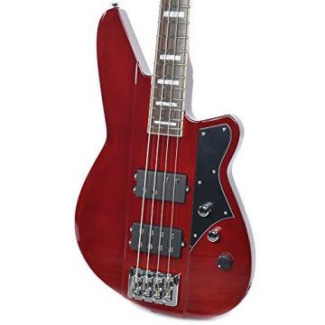 Reverend Thundergun Bass Wine Red