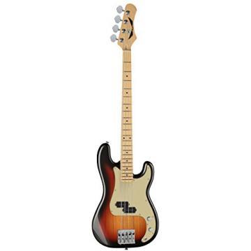 Dean PARAMOUNT M TSB Paramount Maple FB Bass Guitar, 3 Tone Sunburst
