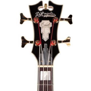 D'Angelico EXB ASS04 4-String Bass Guitar, Vintage Sunburst