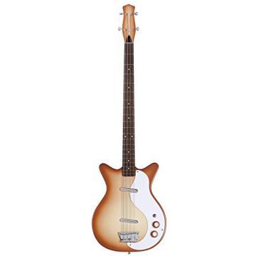 Danelectro '59 DC Long Scale Electric Bass Copper Burst