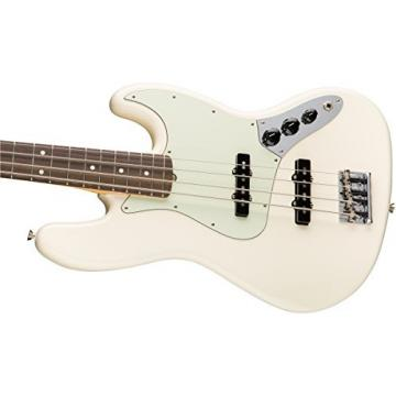 Fender American Professional Jazz Bass - Olympic White with Rosewood Fingerboard