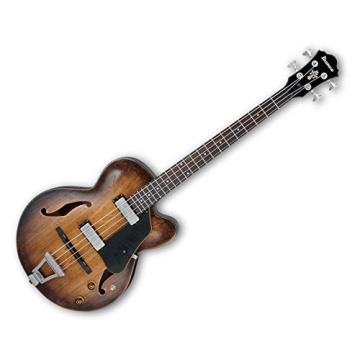 Ibanez AFBV200A Artcore Hollobody Electric Bass Tobacco Burst