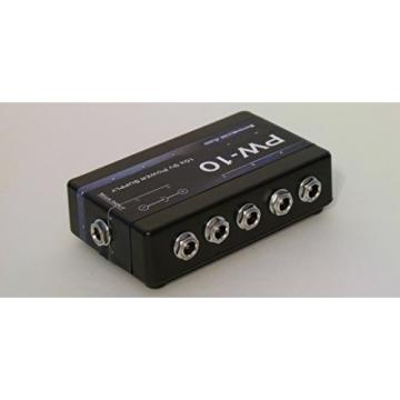 SwitchBlade Audio PW-10 Guitar Pedal Power Supply up to 10 Effects 9-Volt 2-Amp 9V 2A