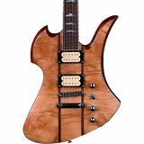 B.C. Rich Mockingbird Neck Through with Maple Burl Top Electric Guitar Gloss Natural